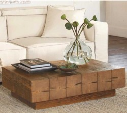 Chunky Fir Wood Coffeetable